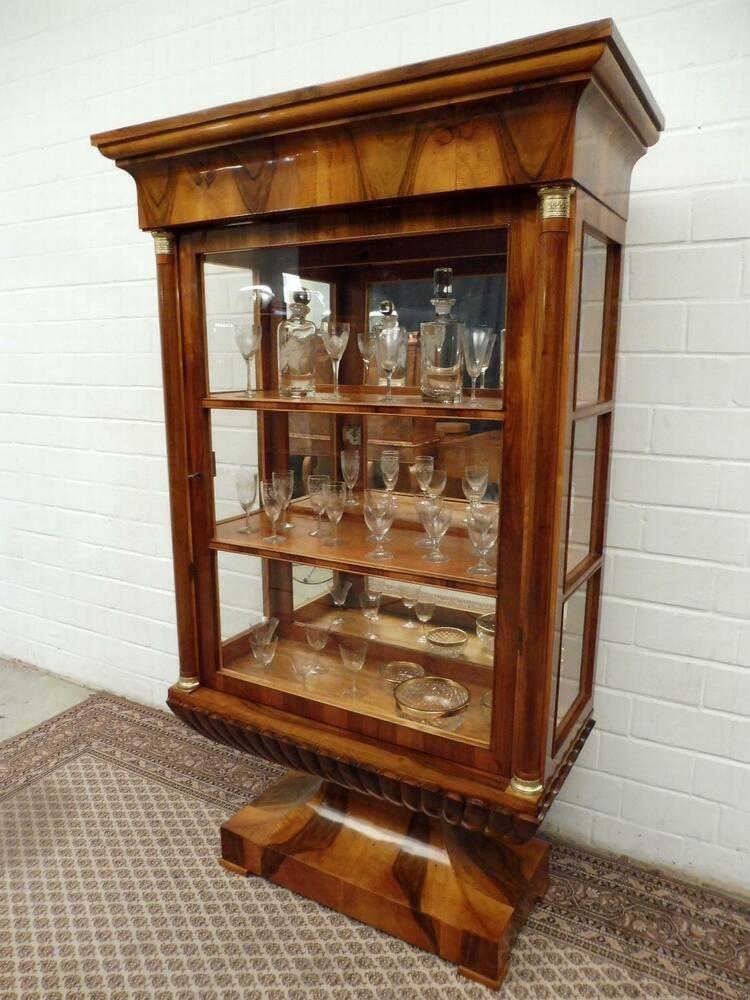 Vitrine Biedermeier Nussbaum Handpoliert Lyra Spitzenmobel Biedermeier Furniture Ebay Home Decor