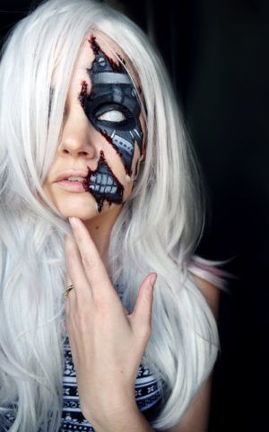 Complete List of Halloween Makeup Ideas (60+ Images) Halloween - halloween horror makeup ideas