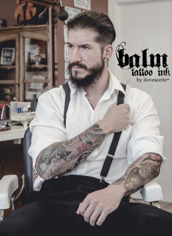 Balm Tattoo Ink 50 gr. Bálsamo para tatuajes y cicatrización a base de aceite de oliva virgen extra