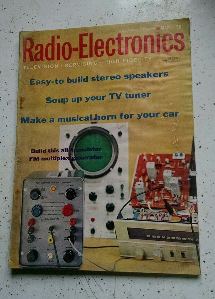 Radio - Electronics Magazine, May 1965, VOL 36 #5 | Radio