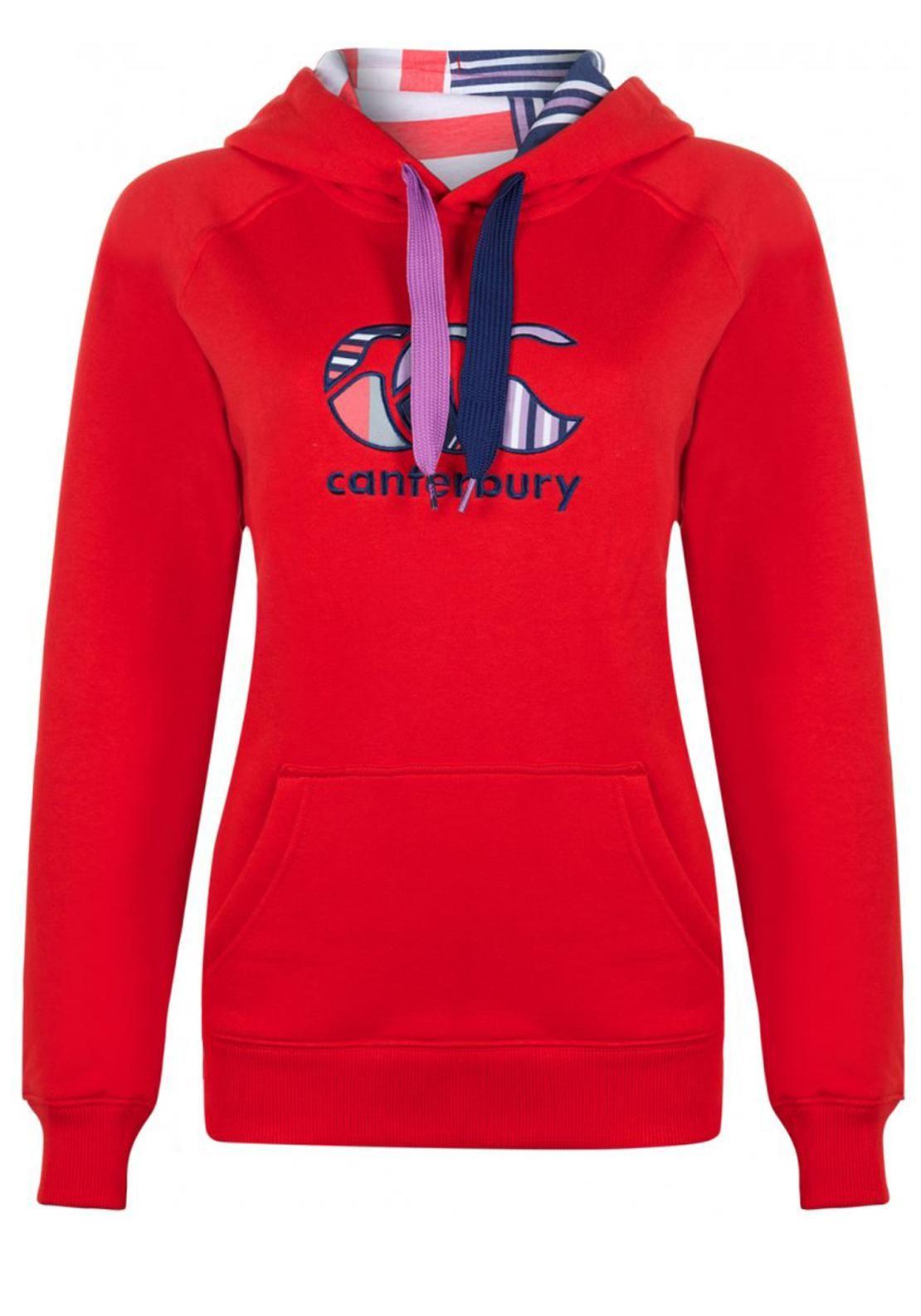Canterbury Womens Uglies Hoody, Poppy | McElhinneys Online Department Store