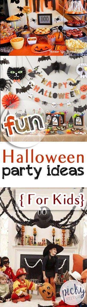 Fun Halloween Party Ideas { For Kids Halloween parties, Hocus - fun halloween party ideas