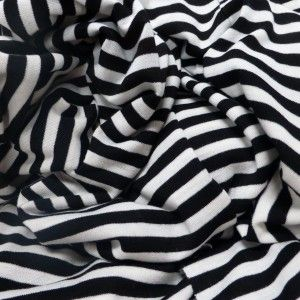 dress fabric per metre Viscose /& Elastane Jersey /'Ivory/',