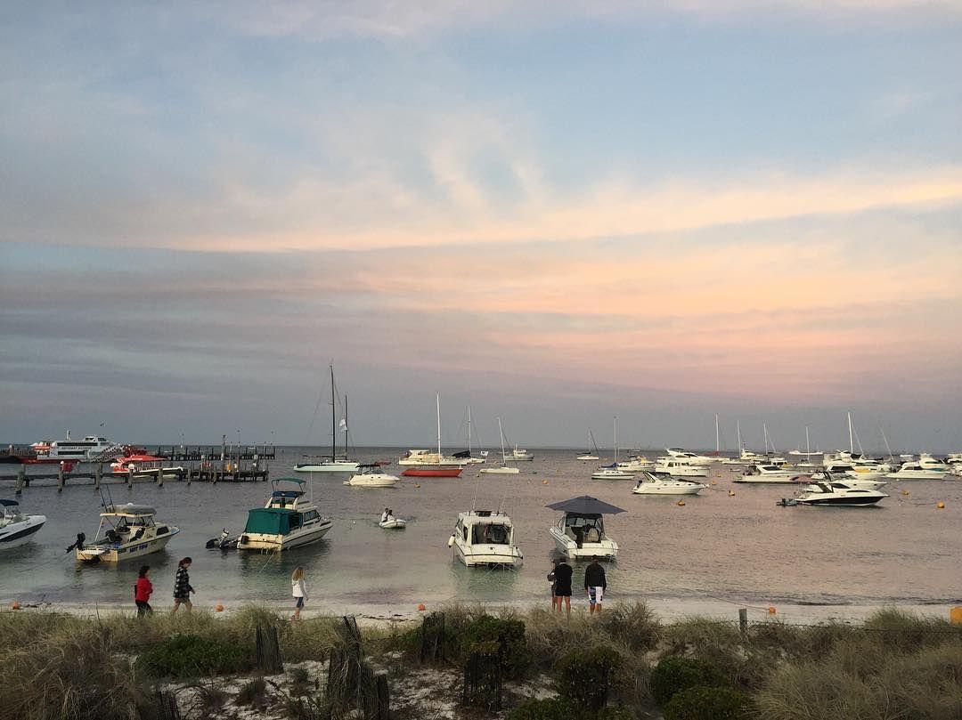 Rotto life #weddingtime #rottnestisland #perthlife #perthisok #thisiswa #westernaustralia #sunset #yachts by missmimalee http://ift.tt/1L5GqLp
