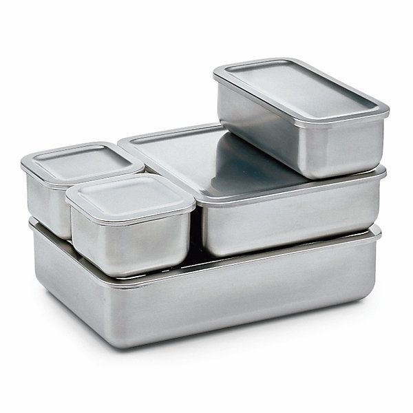 These Tins Are Constructed So That The Larger Ones Several Times Than Smaller Lids Lay Stainless Steel Storage Tin Sr