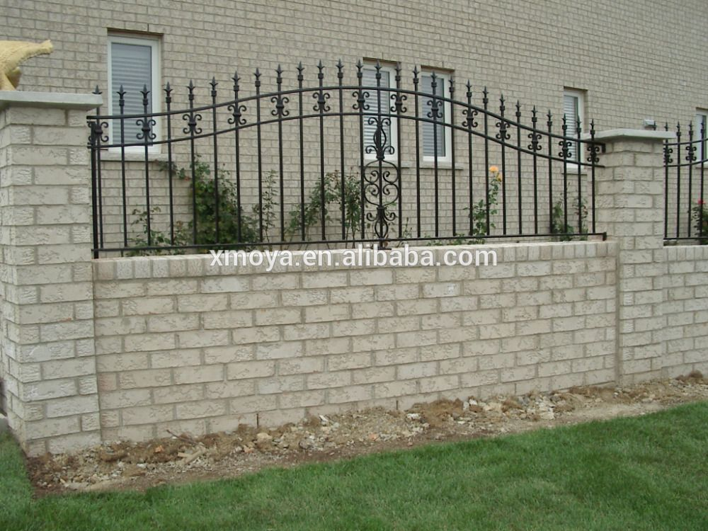 Image Result For Front Yard Iron Fence Ideas Fence Gate Design