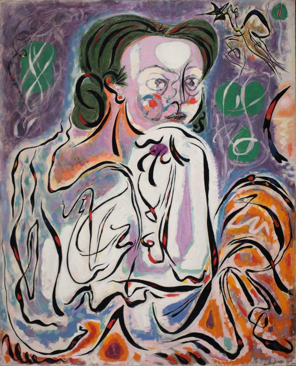 Artist: André Masson (Balagny-sur-Thérain 1896-1987 Paris) | Title: Portrait de Rose | Exhibitor: Applicat-Prazan
