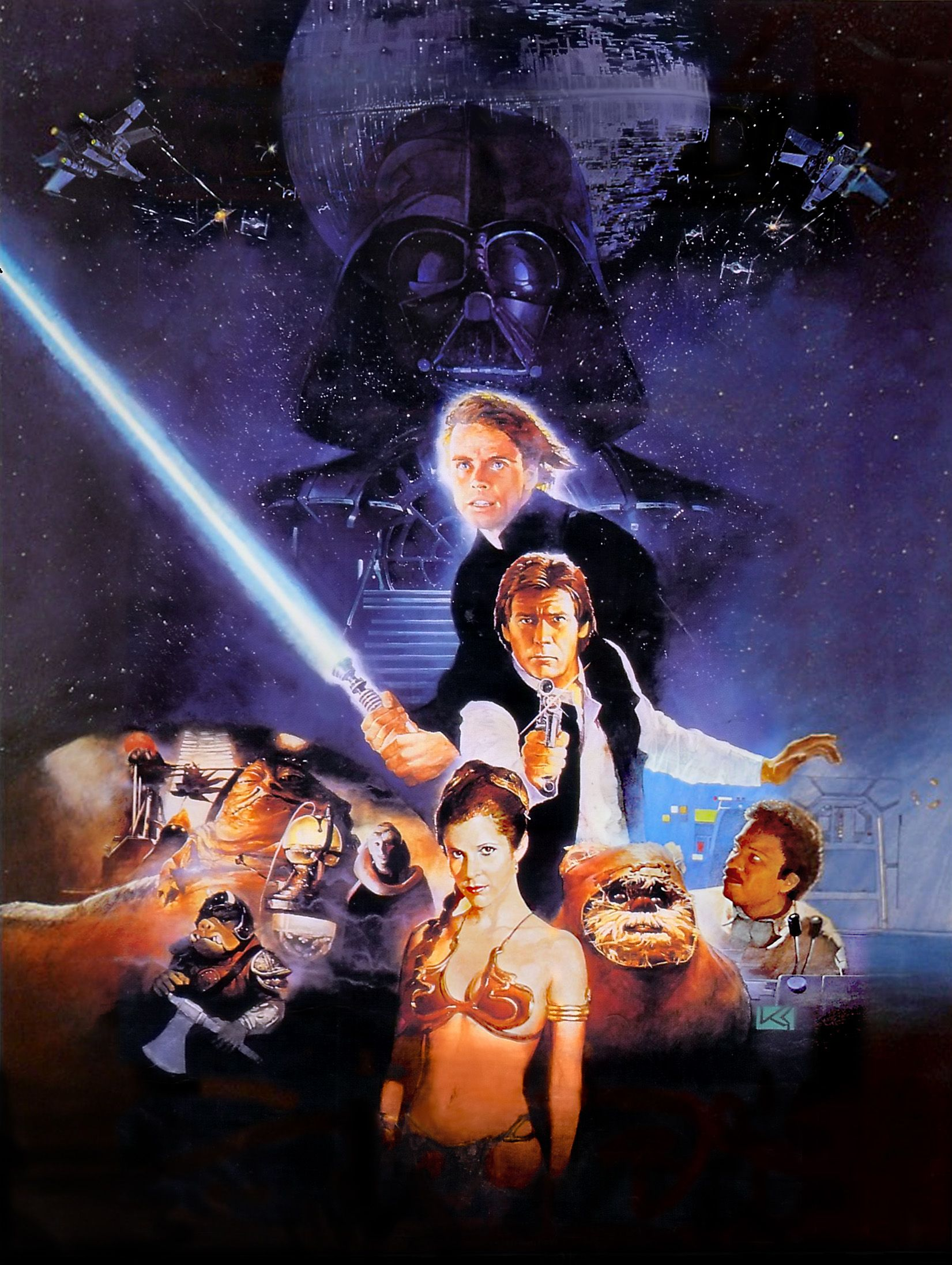 Star Wars Movie Posters All