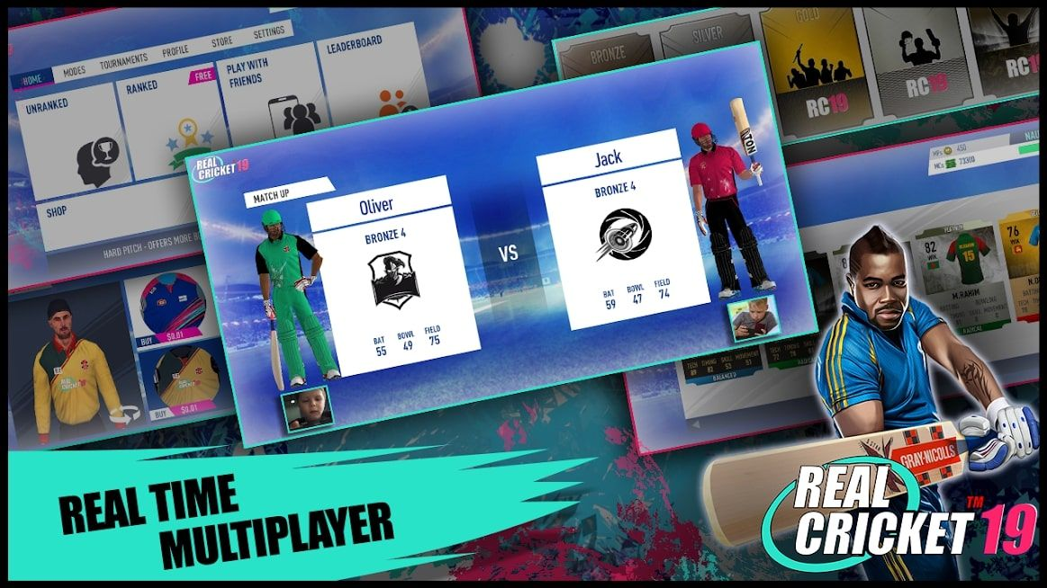 Real Cricket 19 is one of the most liked cricket game for