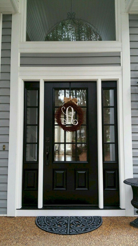 85 marvelous front door farmhouse entrance decor ideas