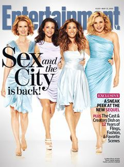 The Sex and the City 2 Ladies Talk Fashion and Camels in EW!