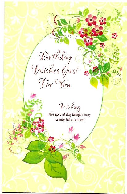 17 Best images about Birthday Wishes Quotes – Birthday Day Card