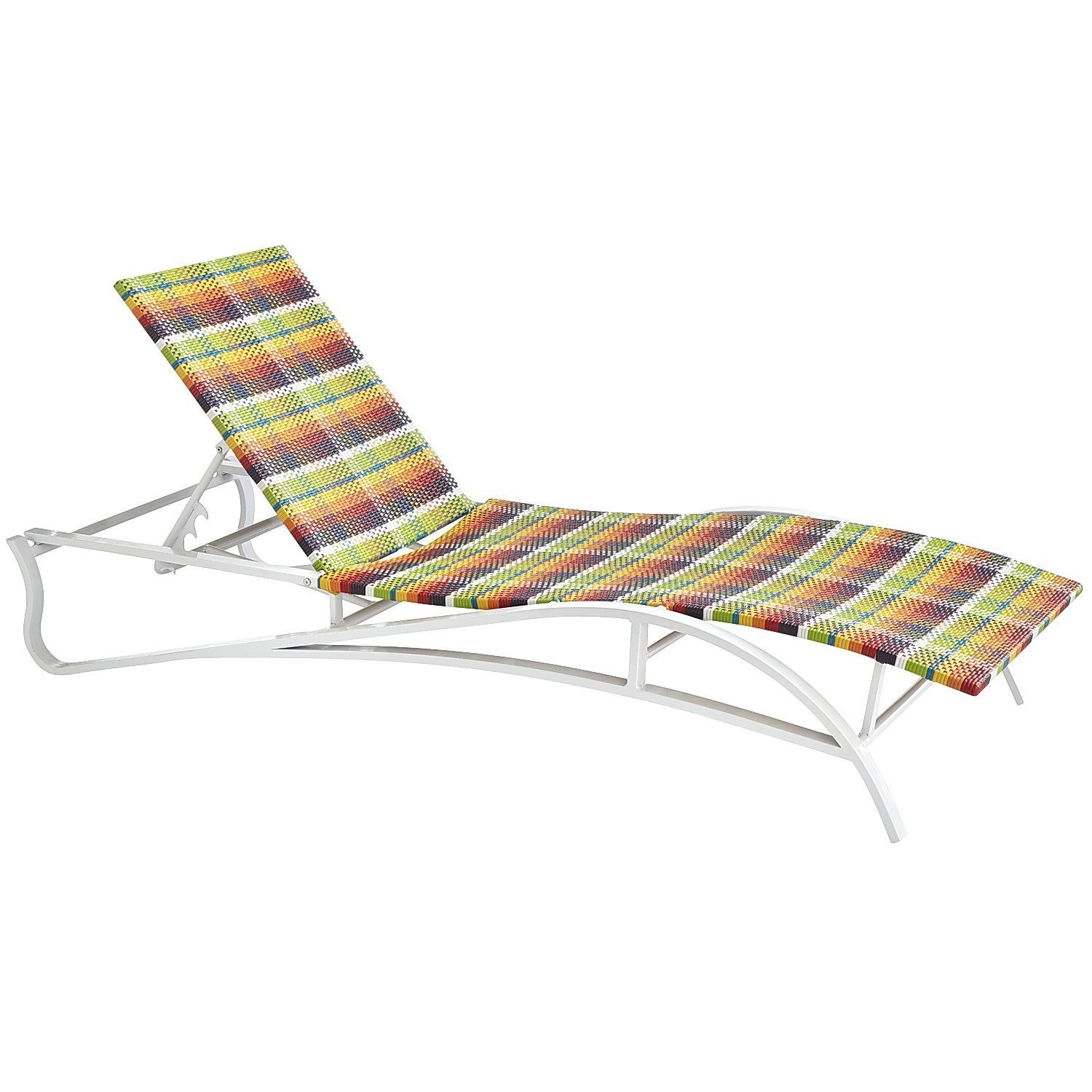 Plaid Chaise Imports Contemporary Outdoor Living LoungePier 1 shrdBoQCtx