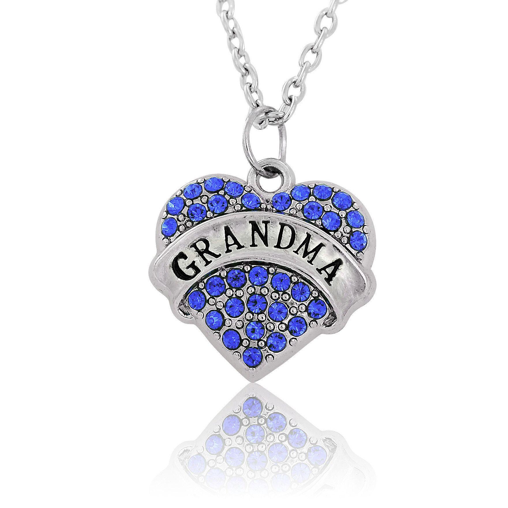 Grandmas love necklace mom necklace necklace love