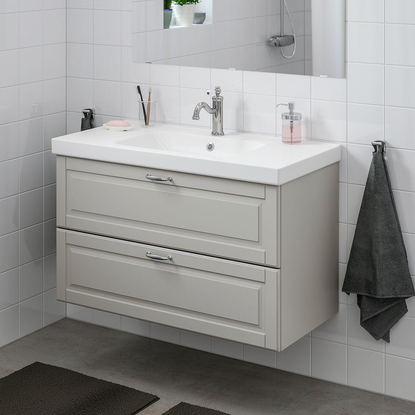 Etagere Pour Vasque A Poser ikea - godmorgon / odensvik bathroom vanity kasjön light