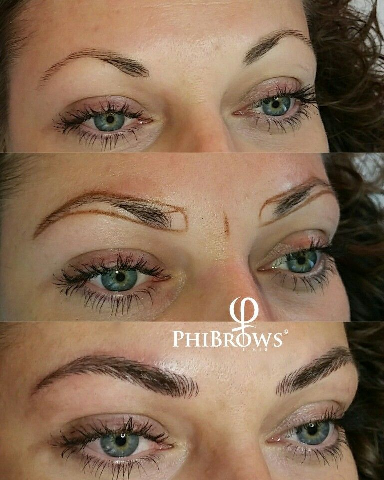 Eyebrow Makeup: Pin By Lauren Steele On Microblading