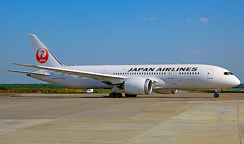 JAL Reports 787 Battery Problem Boeing 787 dreamliner