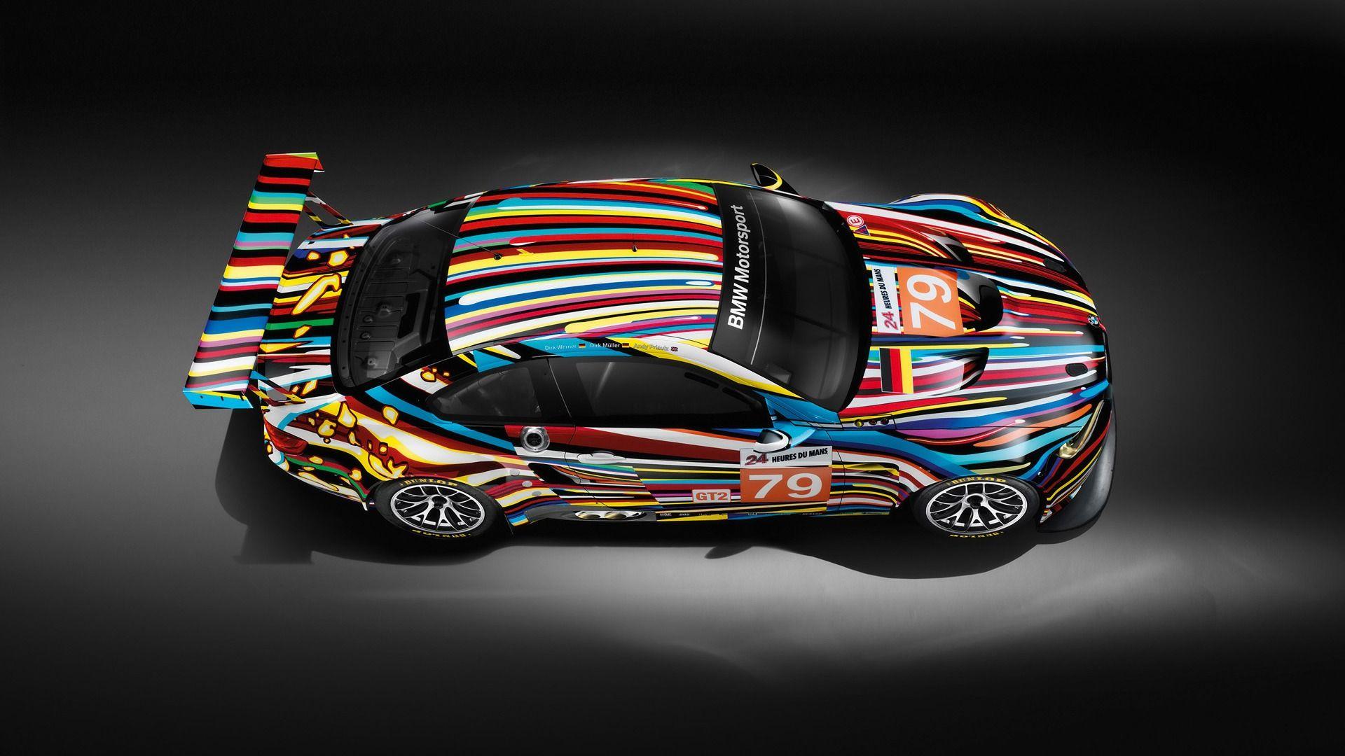 Jeff Koons Bmw M3 Gt2 Art Car Revealed Gallery 1 Bmw Art Car Art Art Cars