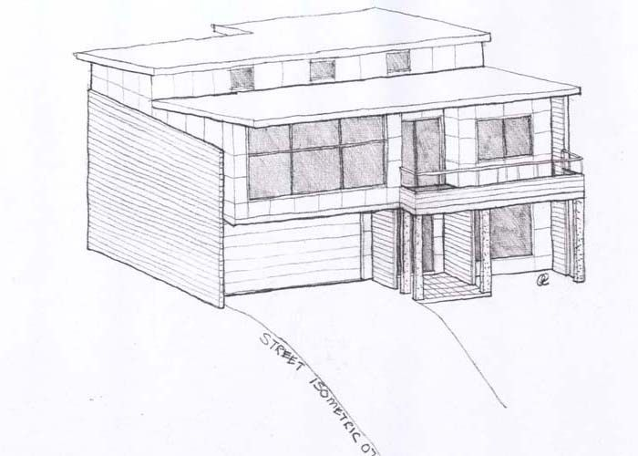 Create Sketch Designs Designing House Isometric Views Small Plans