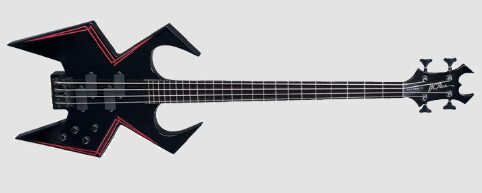 B.C. Rich - Black Widow Bass