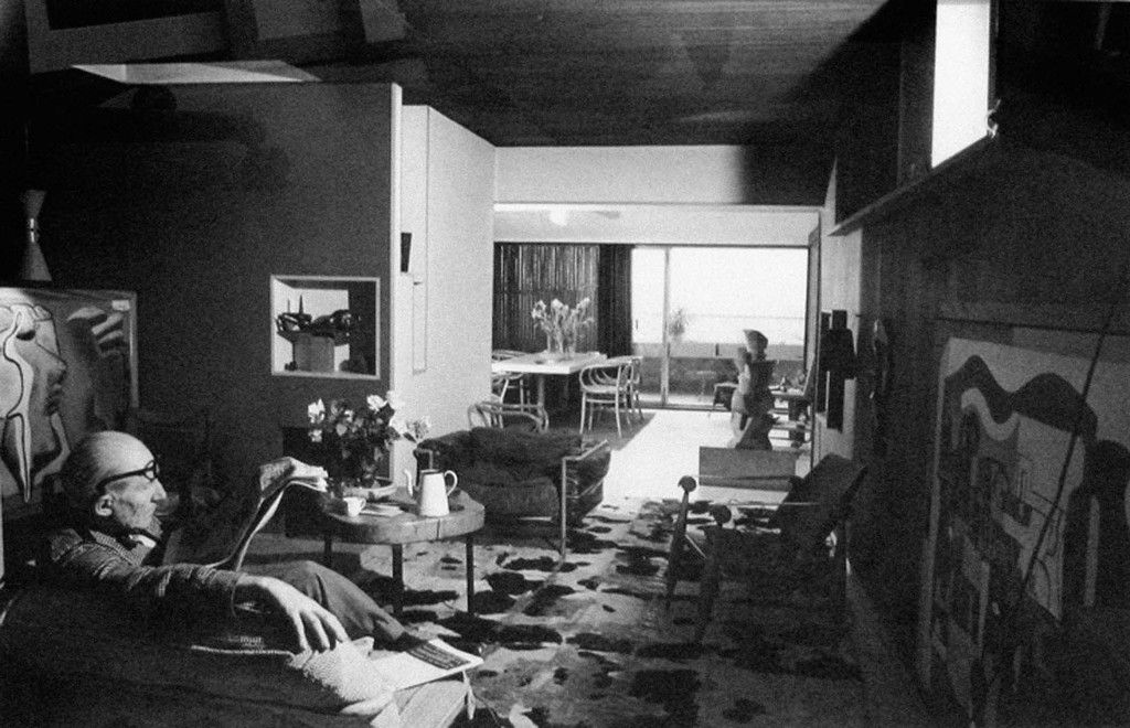 le corbusier by willy rizzo appartement 24 rue nungesser et coli boulogne billancourt salon. Black Bedroom Furniture Sets. Home Design Ideas