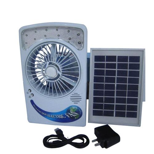 Solar Powered Fan Charge It During The Day To Help Keep