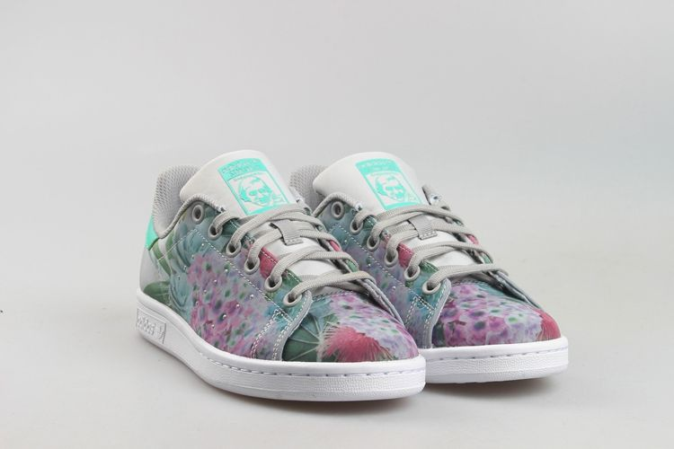 sale retailer 4147b 2d41e ADIDAS ORIGINALS WOMENS STAN SMITH SPRING FLORAL S75949