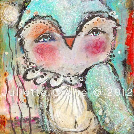 https://flic.kr/p/cgGm6Q | let your sparkle shine | a mixed media painting. read more about my artwork on my blog: juliettecrane.blogspot.com/