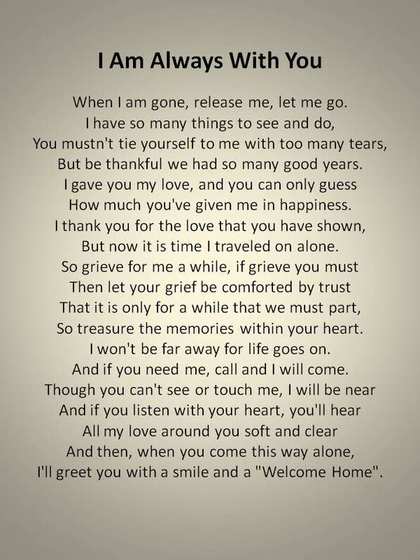 Poems About Missing Someone You Love 2