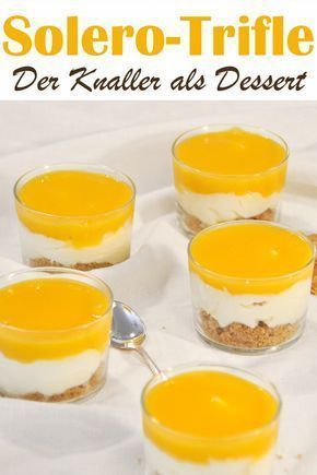 Solero-Trifle. Lecker! #easyrecipedinner