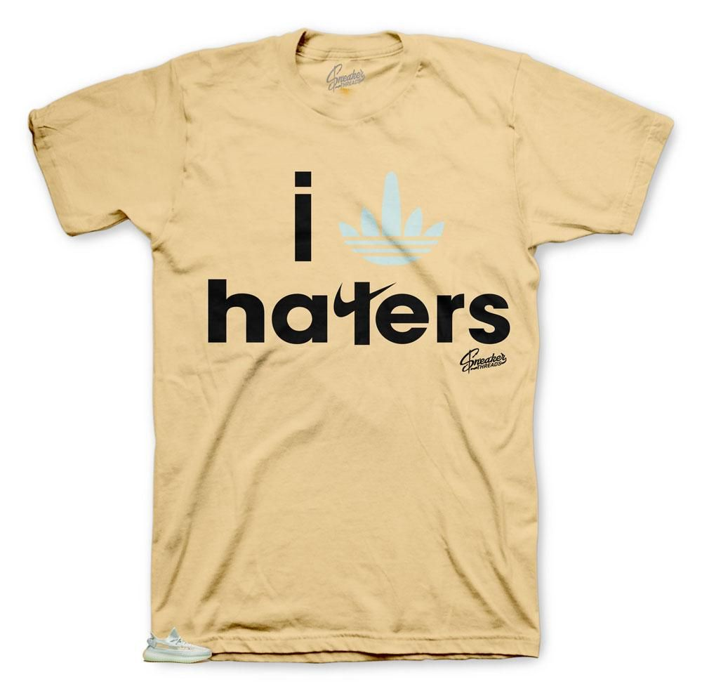 Shirt Match Yeezy Clay 350 Boost Stripe Haters Tee