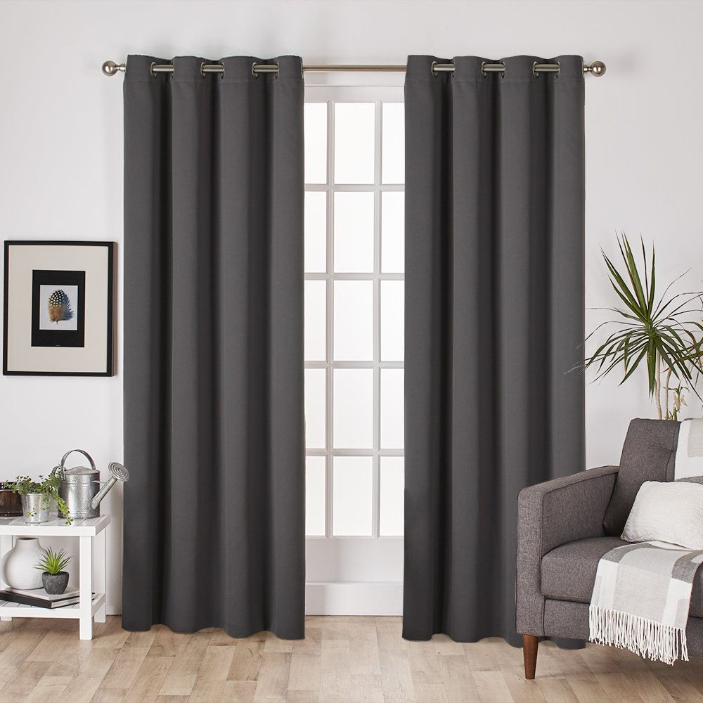 Leslie Blackout Thermal Curtain Panels Panel Curtains Curtains