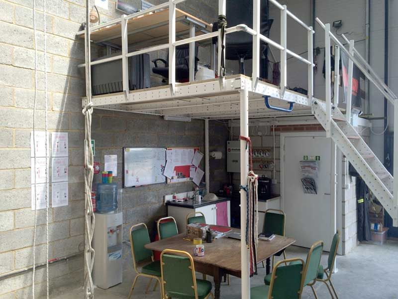 Mezzanine floor garage google search mezzanine floor for How to build a mezzanine floor in a garage