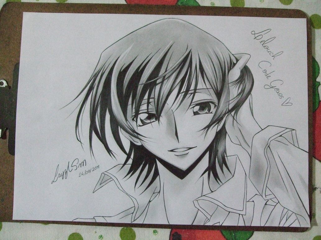 A drawing of Lelouch :D | Artwork that inspires me in 2019