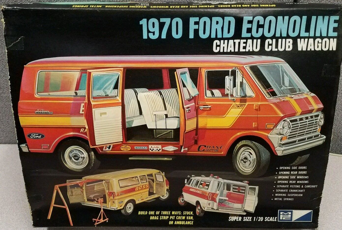 Pin By Al D On Plastic Model Vans With Images Model Cars Kits