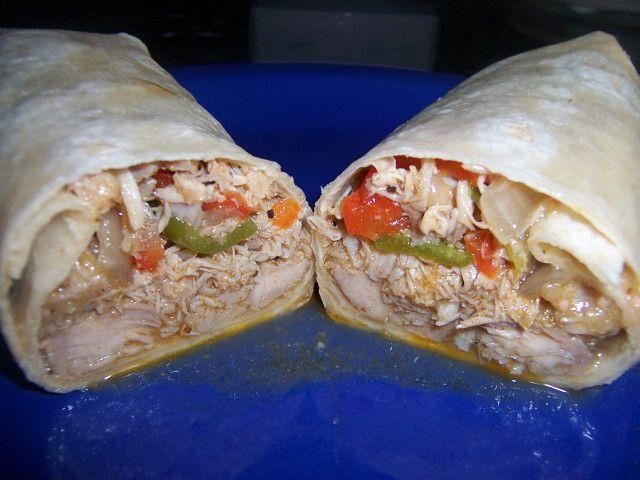 Shredded Chicken Burrito Recipe Authentic Mexican Style Chicken Burritos Burrito Recipe Chicken Shredded Chicken Burrito