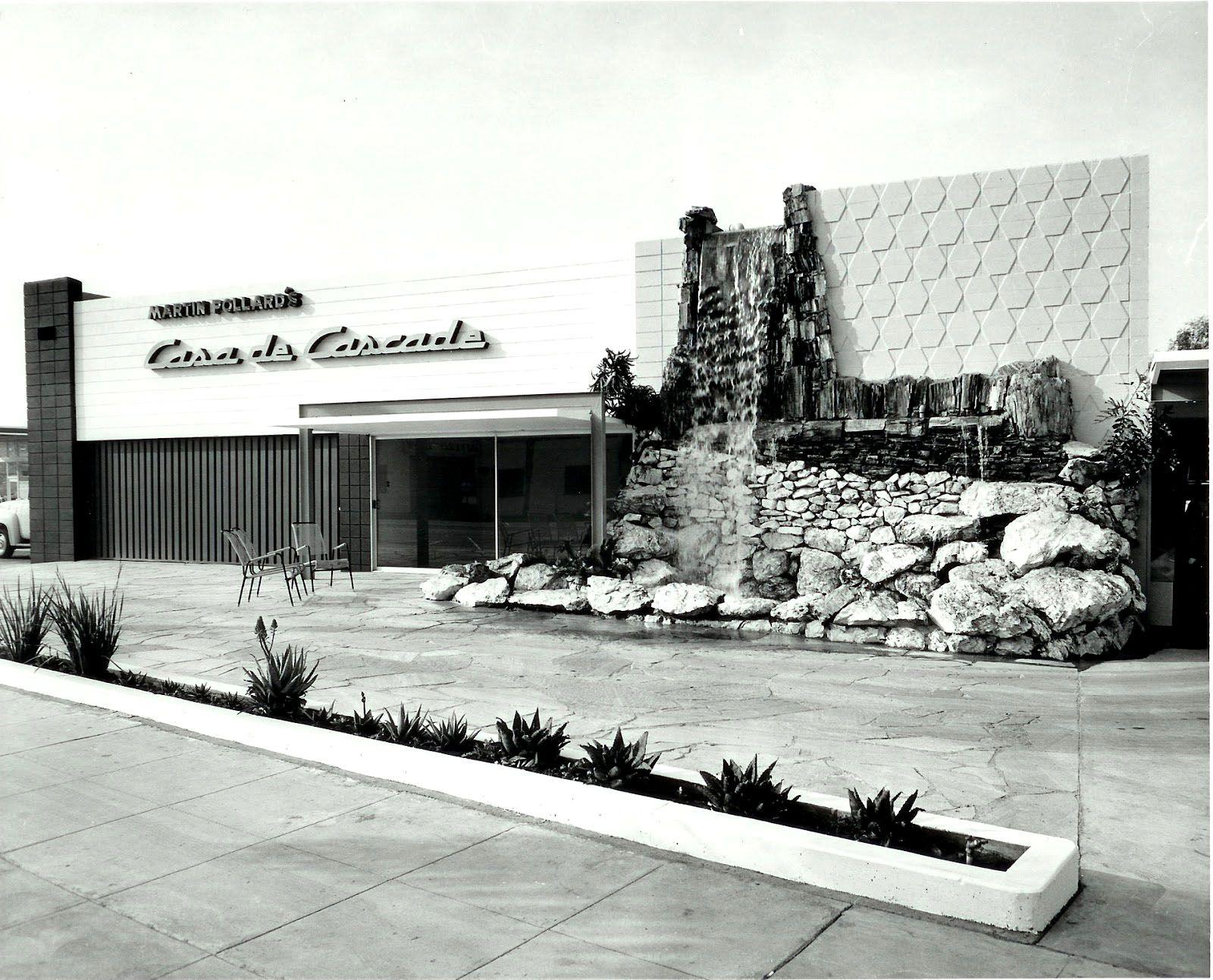Casa De Cascade 1959 San Fernando Valley Vintage Los Angeles Ca History