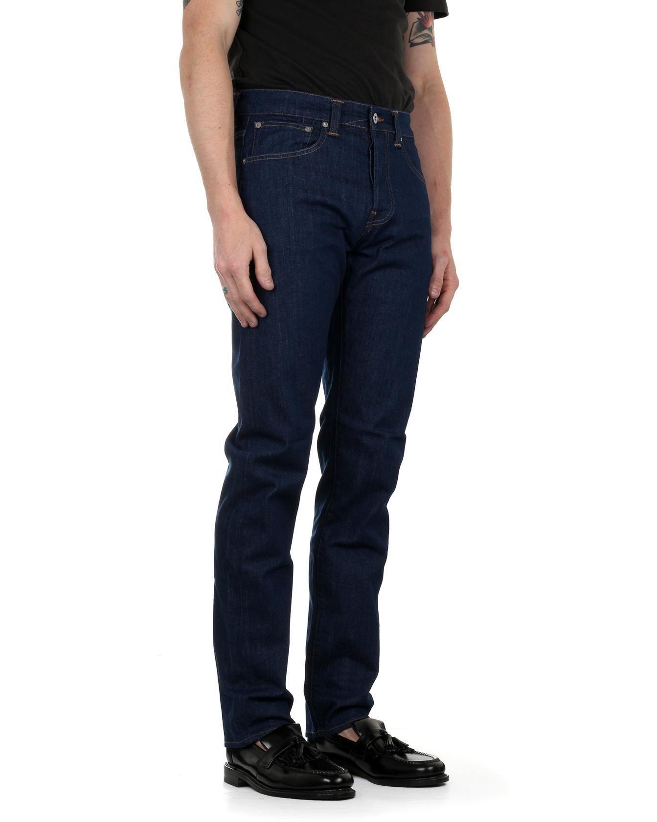 Edwin ED-80 Slim Fit Mens Jeans Kingston Blue Rinsed