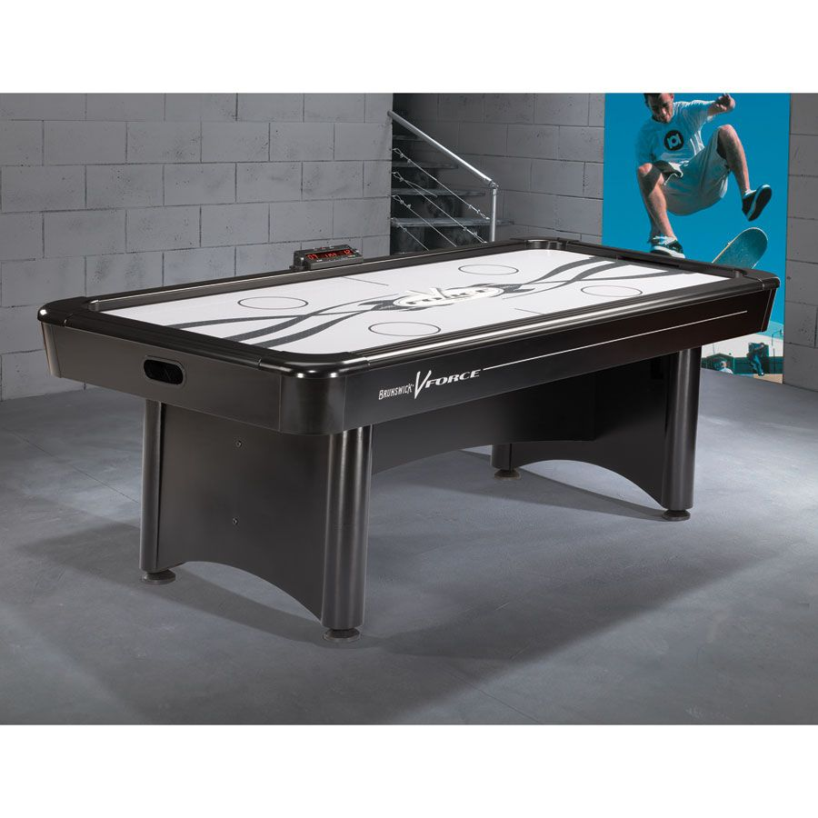 brunswick v force air hockey table air hockey tables pinterest rh pinterest com