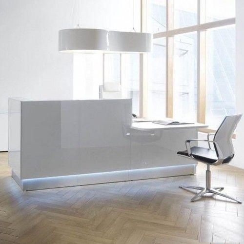 Empfangstheke Glastheke Inwerk Murana Empfangstheke - design aus glas rezeption bilder