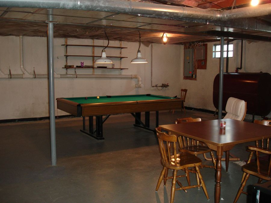 Basement remodeling basement fix up ideas pinterest for Cheap house renovation ideas