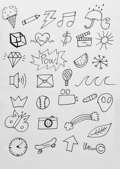 Desenhos Faceis De Fazer Para Decorar Cadernos Bullet Journal