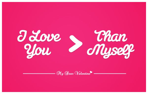 I Love You More Than Myself 3 Romantic Love Quotes For Him Love
