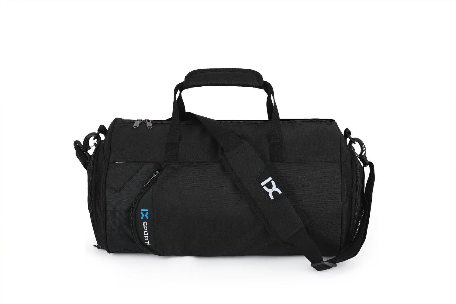 Fitness Sport Small Gym Bag with Shoes Compartment Waterproof Travel ... eebbc90f8031a