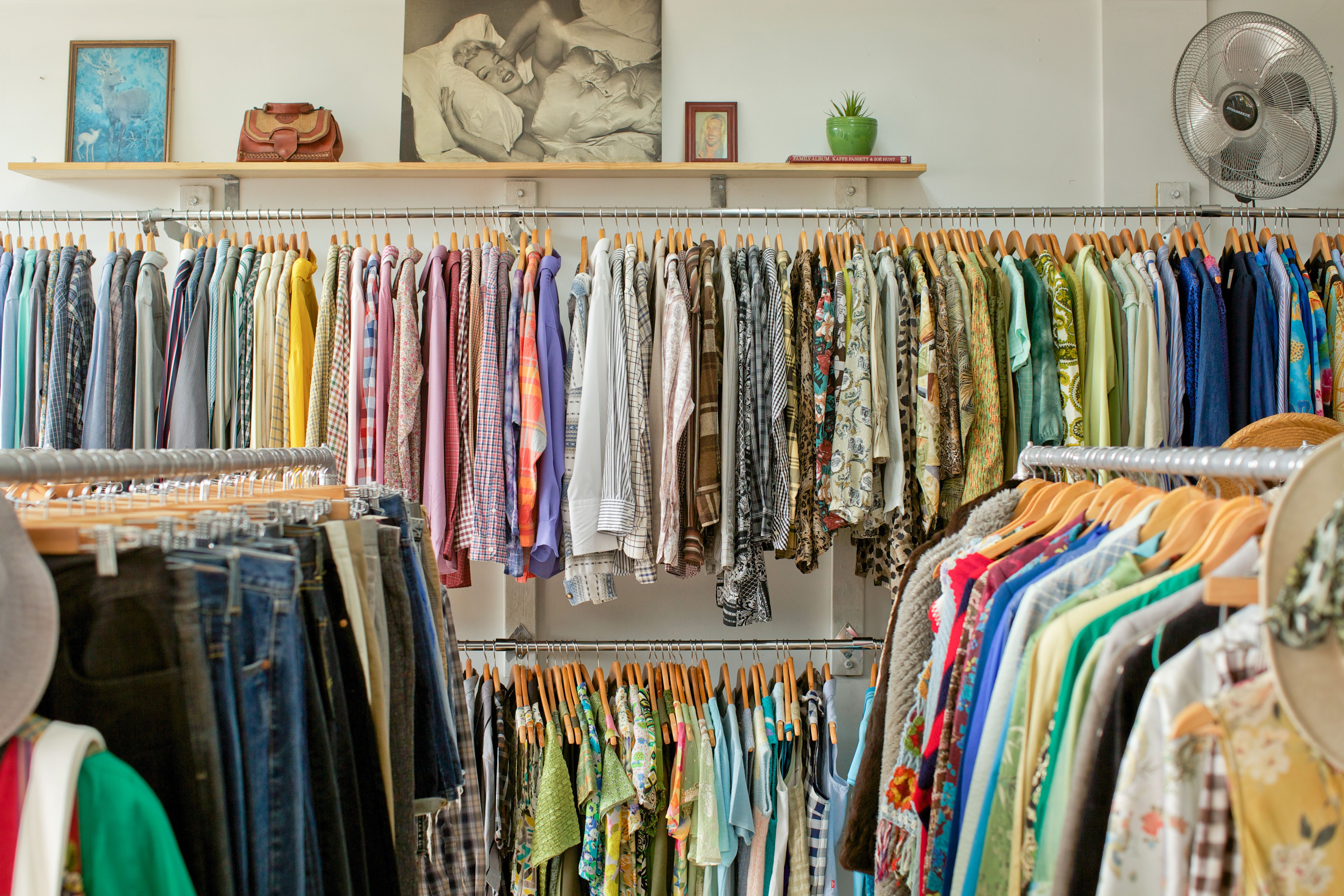 Vintage Store Vintage Clothing Retail Recycled Clothing Shop Fitout Vintage Fashion Clothing Exchange Vintage Store Recycle Clothes