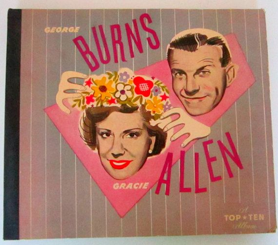 Lot 4 George Burns And Gracie Allen 78 Rpm Records