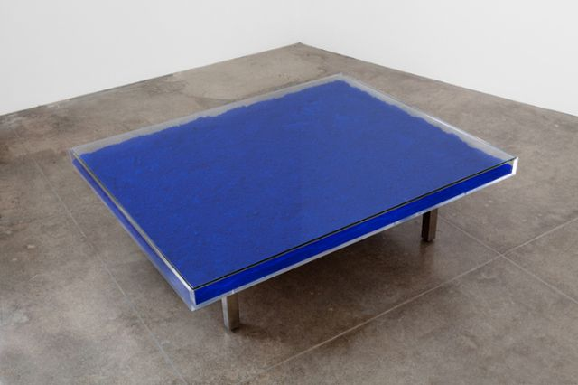 Yves Klein, 'Table Bleue,' 1961, Kayne Griffin Corcoran