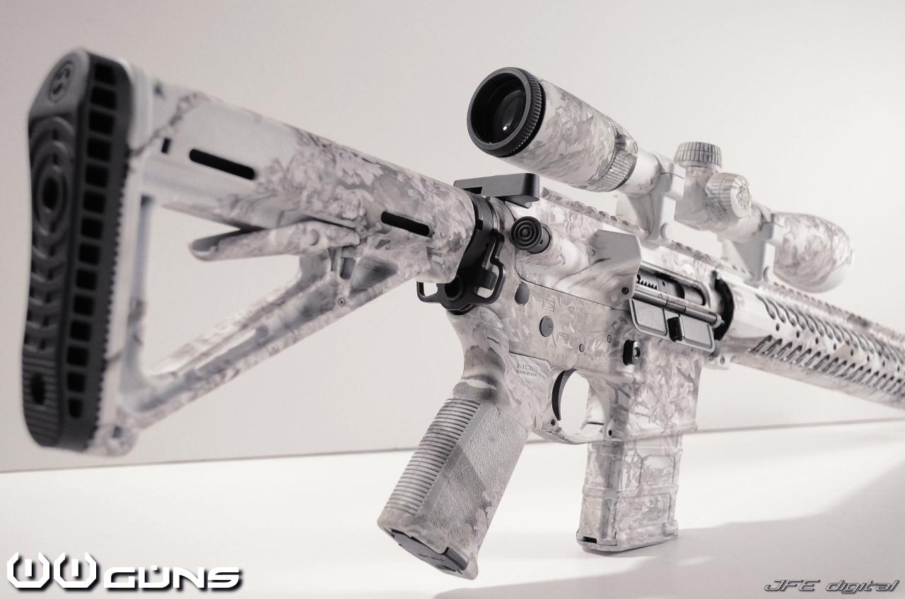 Snow Camo Rifle | Homestead Defense | Pinterest | Camo ...