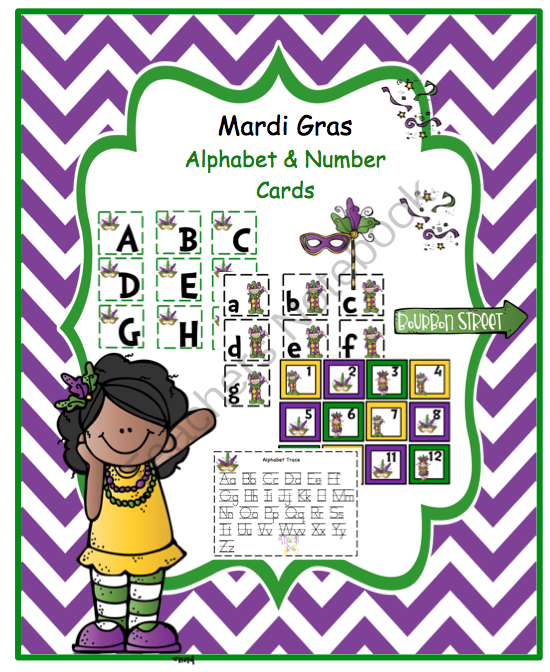Mardi Gras Worksheets For Kindergarten