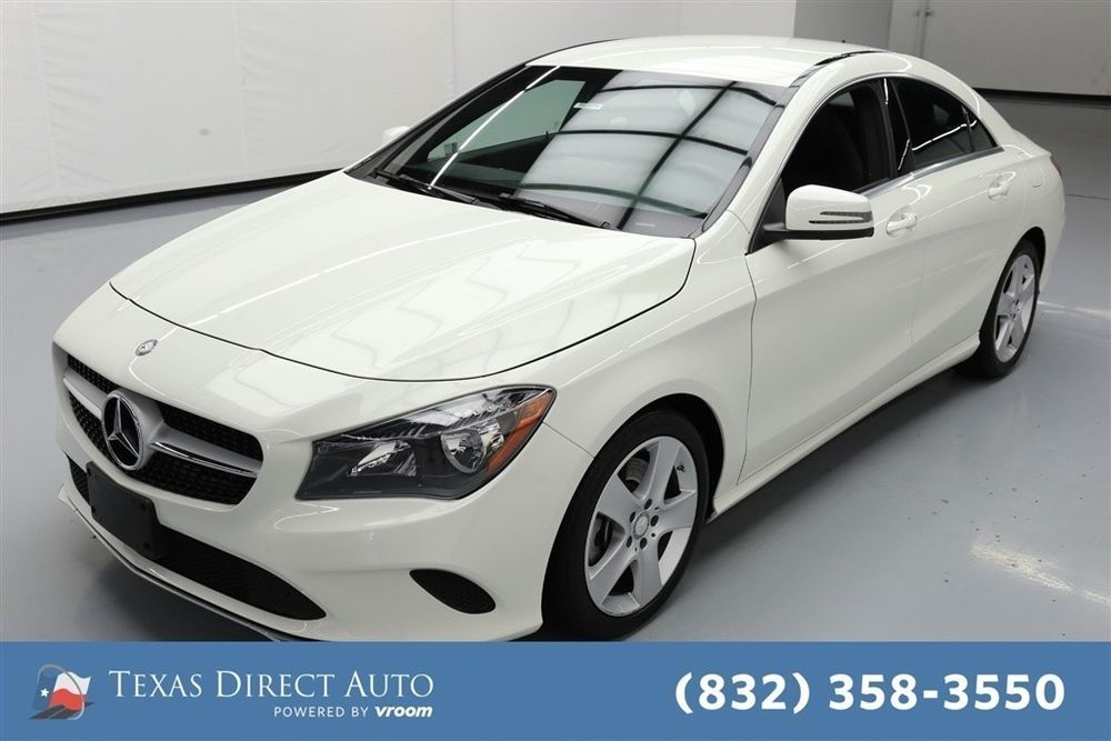 2017 MercedesBenz CLAClass CLA 250 Texas Direct Auto